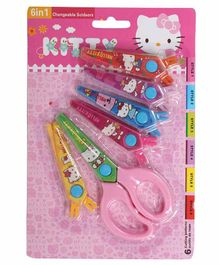 Funcart Fancy Scissors Set Pink Pack of 1 -  6 Pieces
