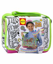 Alex Toys Color A Pony Purse with 6 Markers - Green