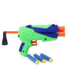 Buzz Bee Ultra Tek Blaster Toy Gun with Darts - Green