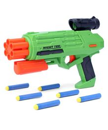 Buzz Bee Toys 55703 UltraTek Dart Gun with Darts - Green Orange