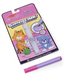 Melissa & Doug On The Go Surprize Ink Pets Game Book - English