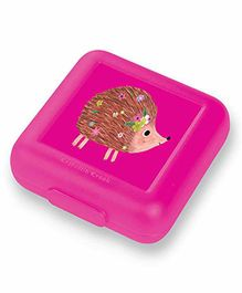 Crocodile Creek Reusable Hedgehog  Sandwich Keeper -Pink