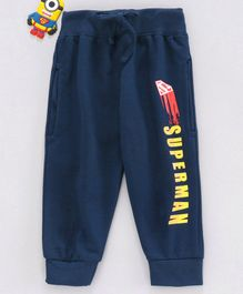 Eteenz Lounge Pants Superman Print - Navy