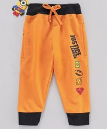 Eteenz Lounge Pants Justice League Print - Yellow