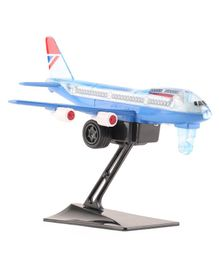 Shinsei Pull Back British Airways Toy Plane with Stand (Color May Vary)