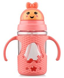 Sipper Cup with Twin Handle - Dark Pink