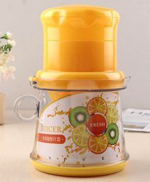 Juicer With Measuring Cup - Yellow