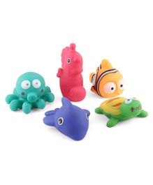 Bath Toys Multicolor - Pack of 5
