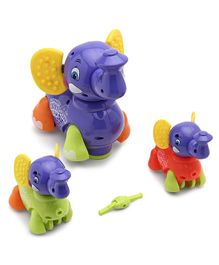 Battery Operated Elephant - Multicolor