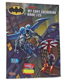 Imagician Playthings Batman My Copy Colouring Book - English