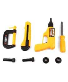 Kids Tool Set Yellow - 8 Pieces