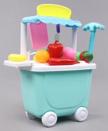 Kitchen Play Set Sky Blue - Pack of 26 Pieces
