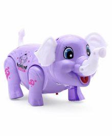 Free Wheel Elephant - Purple