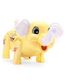Free Wheel Elephant - Yellow
