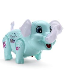 Free Wheel Elephant - Green