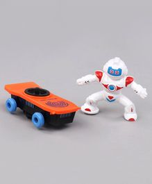 Battery Operated Stunt Robot Toy - Multicolor