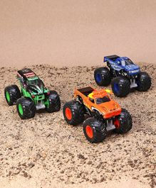 Monster Jam Die Cast Vehicles Shaker Collection Pack of 3 - Multicolor