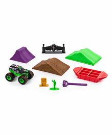 Monster Jam Grave Digger Dirt Deluxe Set - Multicolor