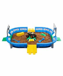 Monster Jam Dirt Arena Playset - Multicolor
