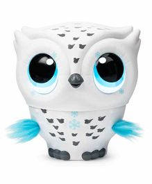 Owleez Interactive Toy with Lights & Sounds - White