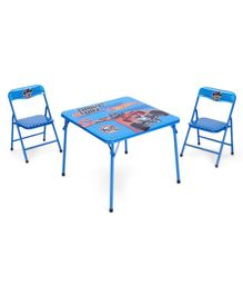 Hot Wheels Table And Chair Set - Blue