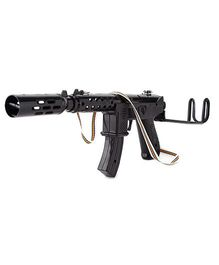 Anmol Toys-Leo Gun With Rapid Fire Sound (Color May Vary)