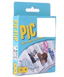 Mattel Flip Pic Card Game - Blue