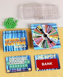 Mattel Wheel of Fortune Bingo Fast Fun Board Game - Multicolor