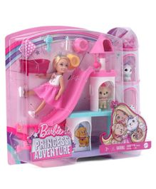 Barbie Chelsea Princess Playset - Pink