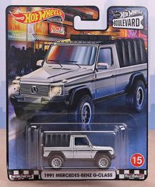 Hot Wheels 1991 Mercedes-Benz G-class Boulevard