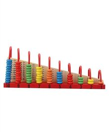 Tinykart Wooden Abacus - Multicolor
