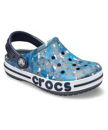 Crocs Bayaband Clogs - Grey & Blue
