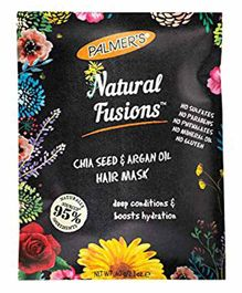Palmer's Natural Fusions Chia Seeds and Argan Oil Hair Mask - 60 gm