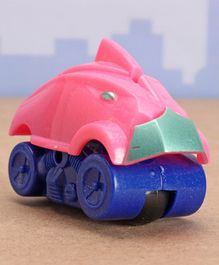 Playmate Friction Toy Car - Pink Blue