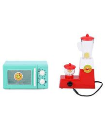 Ratnas Toy Oven And Mixer Set - Green Red