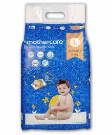 Mothercare Extra Absorb Pant Style Diapers Large - 42 Pieces