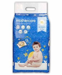 Mothercare Extra Absorb Pant Style Diapers Extra Large - 40 Pieces