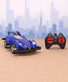 Rising Step Remote Control Toy Car - Blue