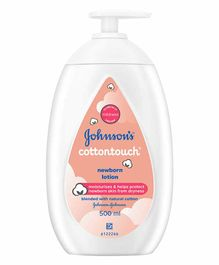 New Johnson's Cottontouch Newborn Baby Lotion - 500 ml