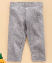 Adams Kids Solid Colour Full Length Leggings - Grey