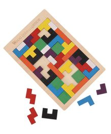 Falcon Wooden Intelligence Maze - Multicolor