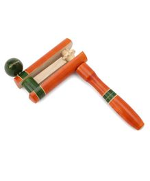 Falcon rotating Rattle Toy - Brown