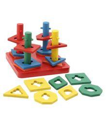 Falcon Stacking Tower Toy - Multicolor