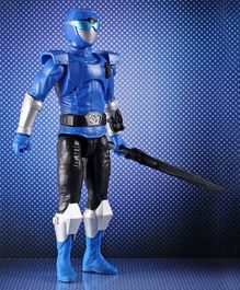 Power Rangers Beast Morphers Blue Ranger Action Figure - Height 29 cm