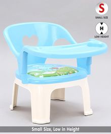 Chair With Feeding Tray - Blue