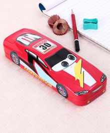 Car Shaped Pencil Boxes Pack of 2 - Red