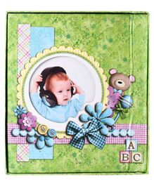 Photo Album Baby Print - Green