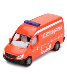Siku Die Cast Funskool Ambulance Van - Orange