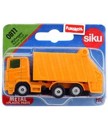 Siku Die Cast Funskool Refuse Truck - Yellow