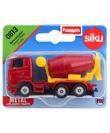 Siku Die Cast Funskool Cement Mixer - Red
